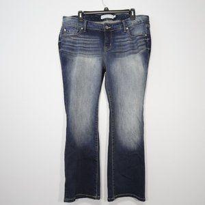 Torrid Dark Wash Stretchy Bootcut Jeans